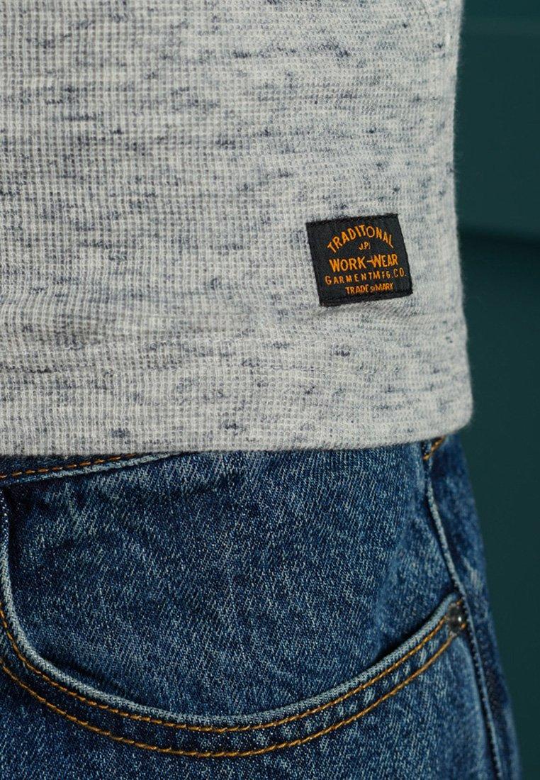 Herrer MICRO TEXTURE - Langærmede T-shirts