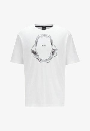 TIMA - T-Shirt print - white