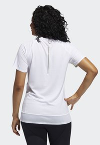 adidas Performance - RISE UP 'N RUN SANTA MONICA T-SHIRT - Print T-shirt - red - 1