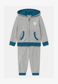 Guess - HOODED ACTIVE SET - Tracksuit - bleu/moroccan blue - 0