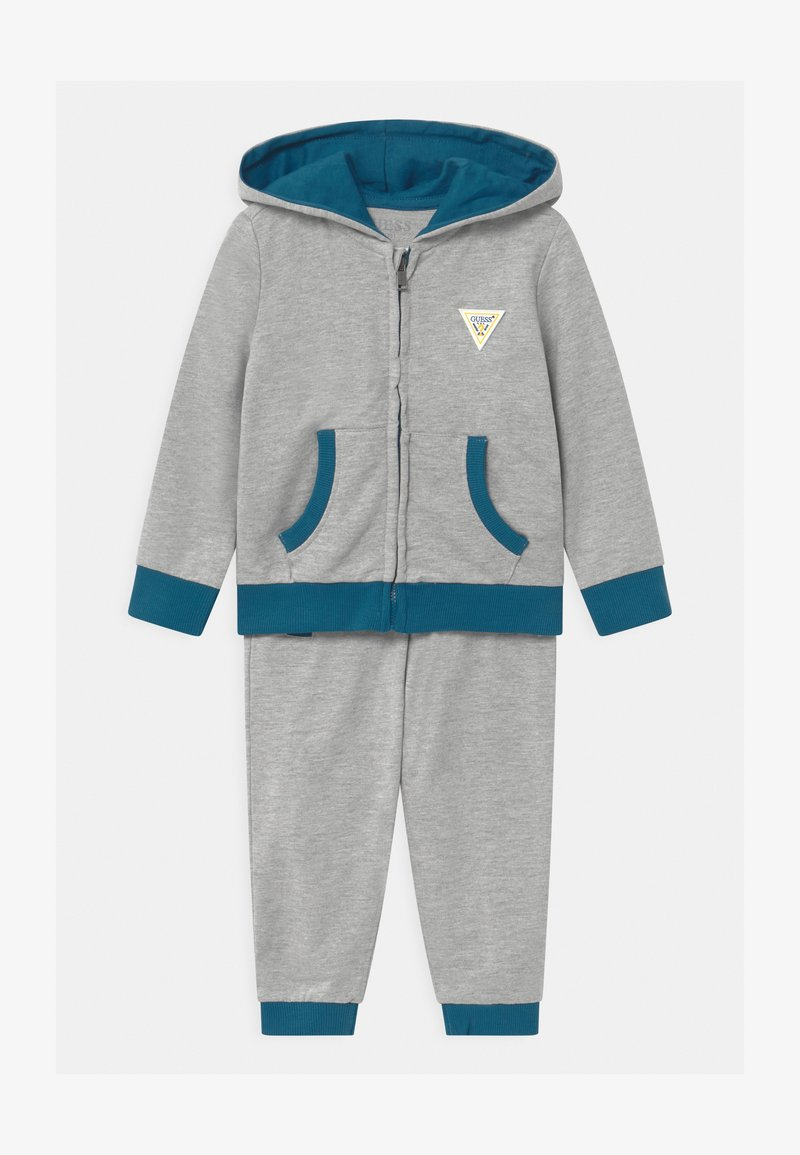 Guess - HOODED ACTIVE SET - Tracksuit - bleu/moroccan blue