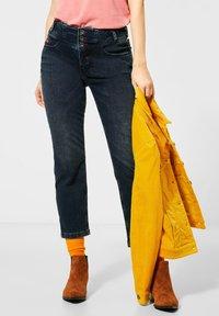 Street One - STRAIGHT LEG  - Slim fit jeans - blau - 1