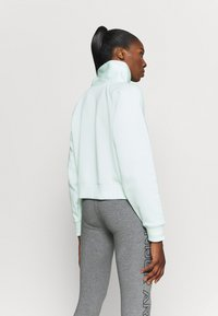 Under Armour - RIVAL WRAP NECK - Sweatshirt - seaglass blue - 2