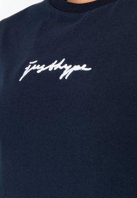 Hype - Print T-shirt - navy - 3