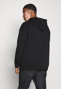 Pier One - Zip-up hoodie - black - 2