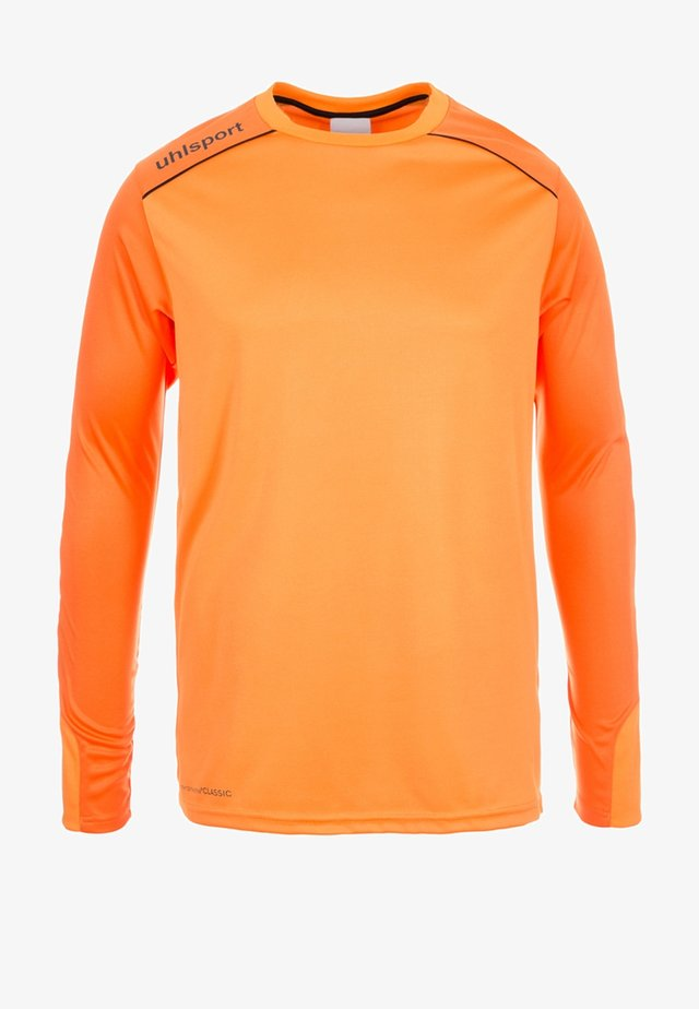 TOWER - Goalkeeper shirt - orange/black