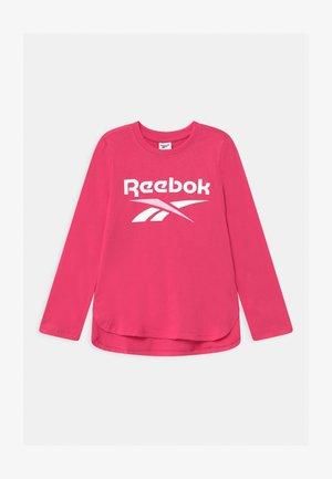 CLASSIC - Camiseta de manga larga - shock pink
