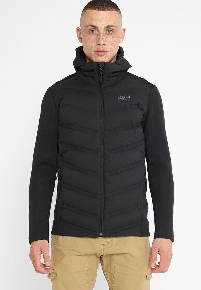 TASMAN JACKET - Down jacket - black