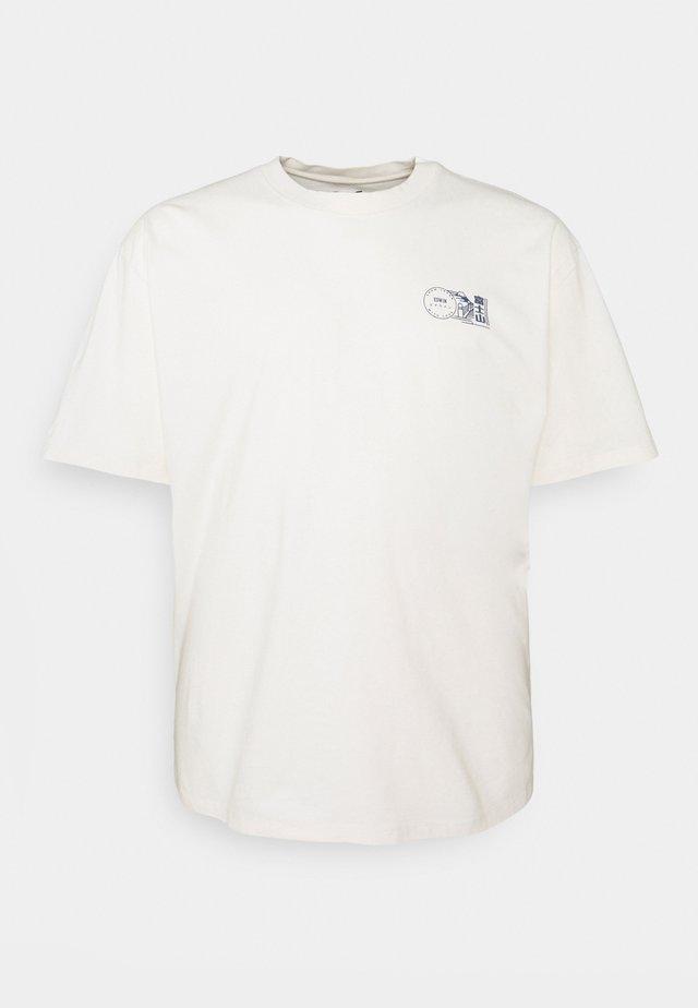 MONDOKORO - T-shirt imprimé - whisper white