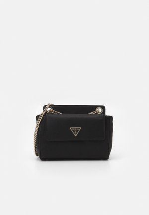 SANDRINE CONVERTIBLE CROSSBODY - Across body bag - black
