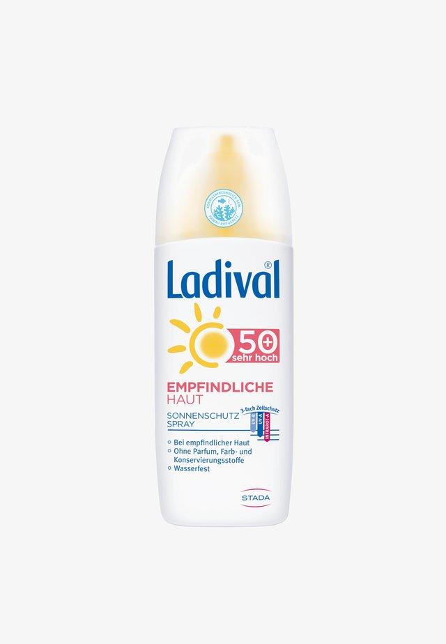 SONNENSCHUTZ EMPFINDLICHE HAUT SONNENSCHUTZ SPRAY, LSF 50+ - Sun protection - -