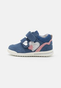 Superfit - AVRILE MINI - Touch-strap shoes - blau/rosa - 0
