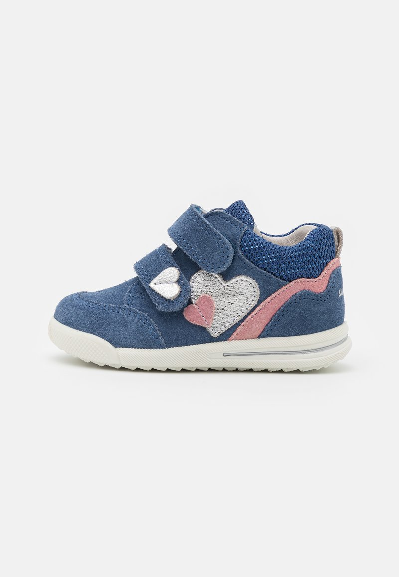 Superfit - AVRILE MINI - Touch-strap shoes - blau/rosa