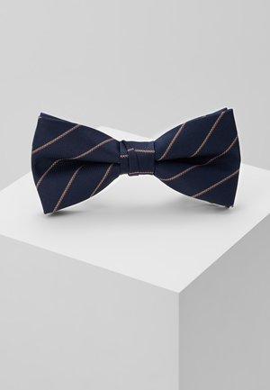 WILLIAM BOWTIE - Motýlek - navy blazer/stripes
