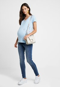 Esprit Maternity - T-shirt print - pastel blue - 1