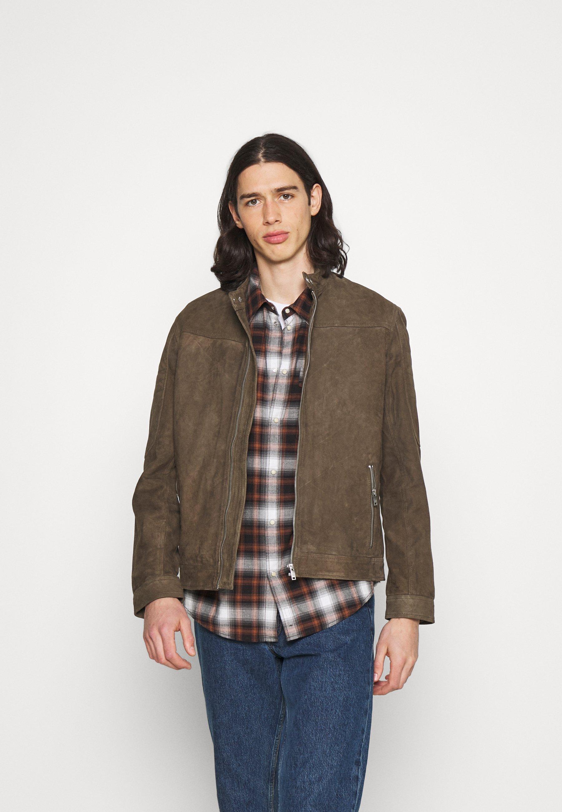 Men DROYD - Leather jacket