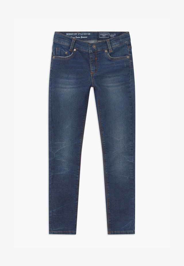 GIRLS  - Jeans Skinny Fit - blue denim