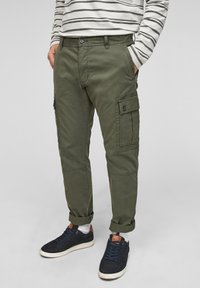 s.Oliver - Cargo trousers - olive - 3