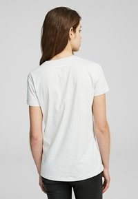KARL LAGERFELD - Camiseta básica - light grey melange - 2