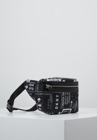 DKNY - CASEY - Rumpetaske - black/white - 3