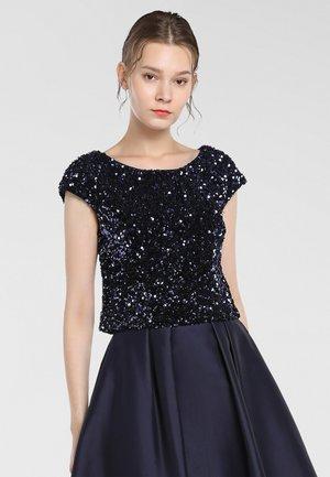 Bluse - nachtblau
