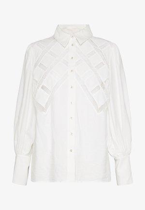 WORTHY SHIRT - Camicia - ivory