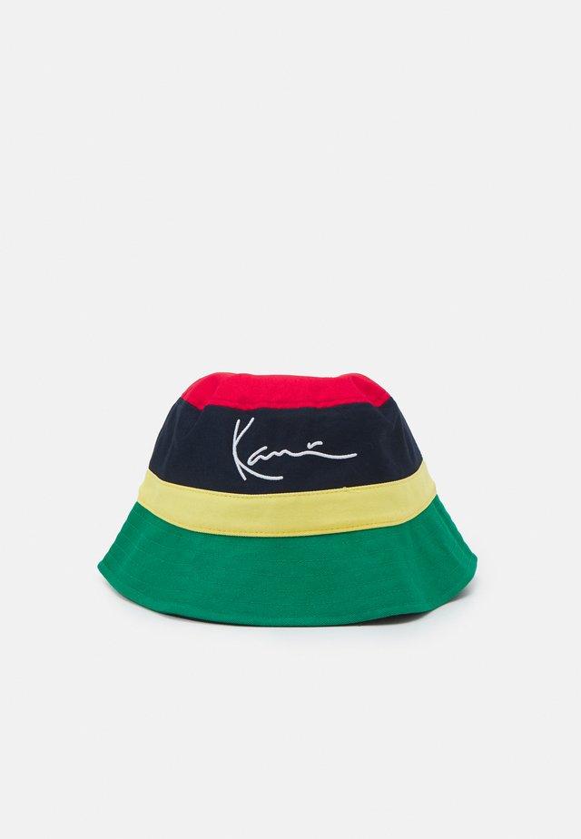 SIGNATURE BUCKET HAT - Klobouk - multicolor