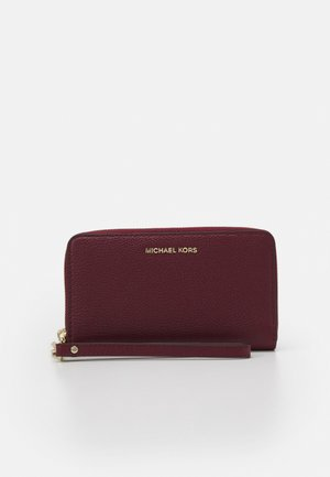JET SETLG FLAT CASE - Wallet - dark berry
