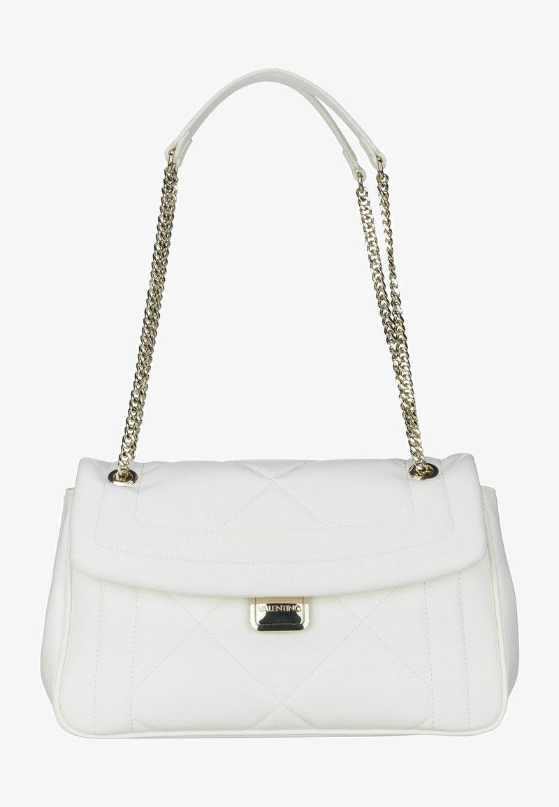 Valentino Bags - PERLA SATCHEL - Handbag - bianco