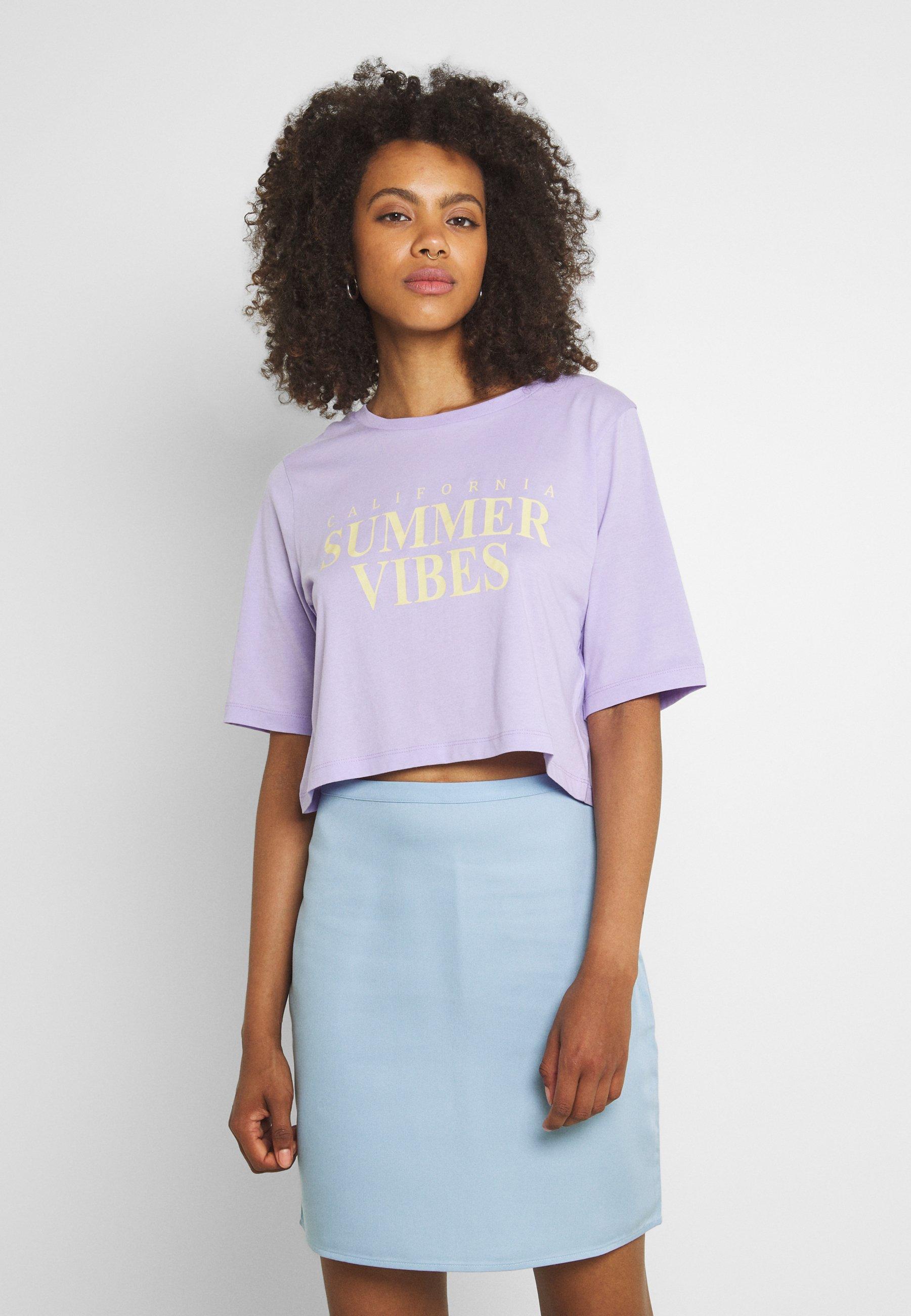 Mujer VIVULKAN CROPPED - Camiseta estampada