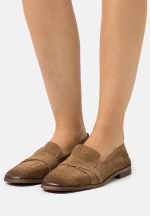 ANITA - Scarpe senza lacci - stone