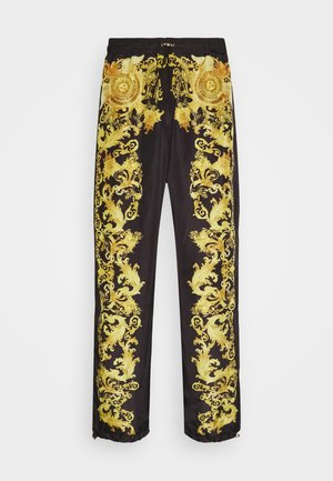 PRINT BAROQUE - Tracksuit bottoms - black
