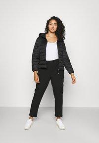 Vero Moda Curve - VMKAYA PANT - Trousers - black - 1