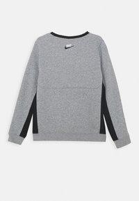 Nike Sportswear - AIR CREW - Mikina - dark grey heather/black - 1