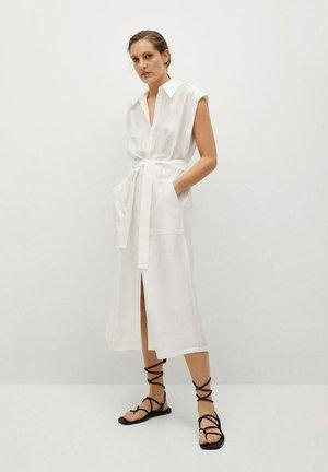 LUCCA-A - Košilové šaty - blanc cassé