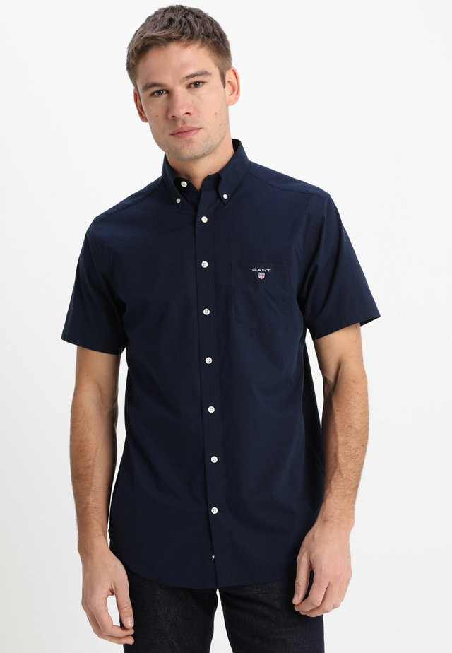 THE BROADCLOTH REGULAR FIT - Camisa - navy