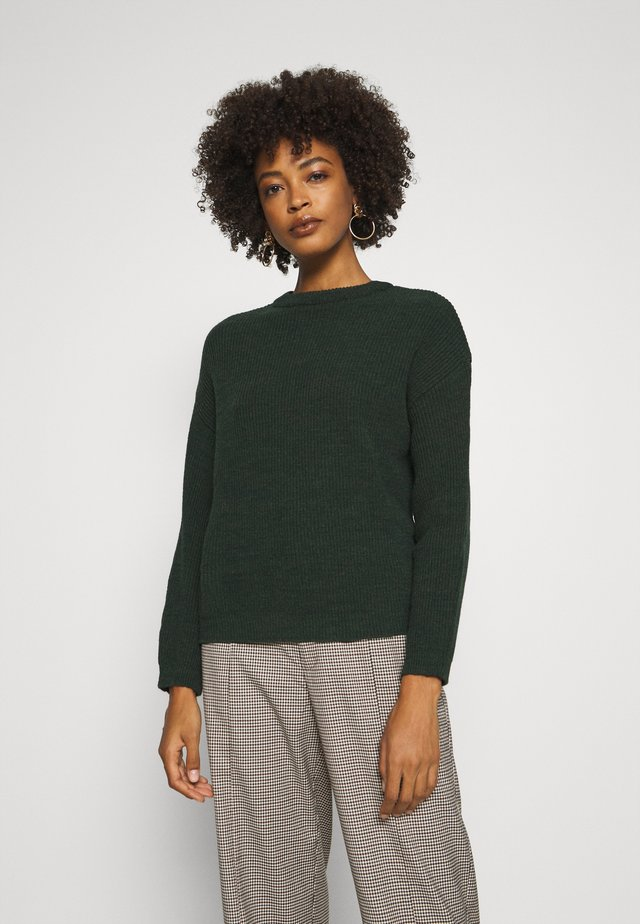 BAT SHAPE OVERSIZED - Maglione - dark green