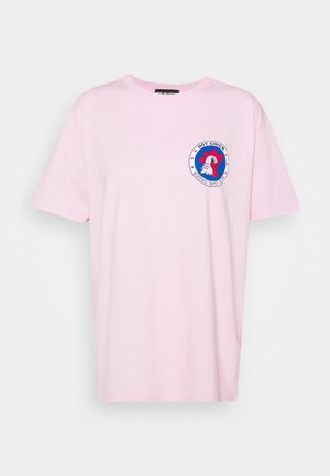 HOT CHICK TEE - Print T-shirt - pink