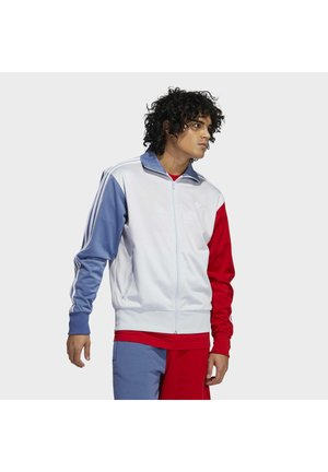 Training jacket - halo blue/crew blue/scarlet