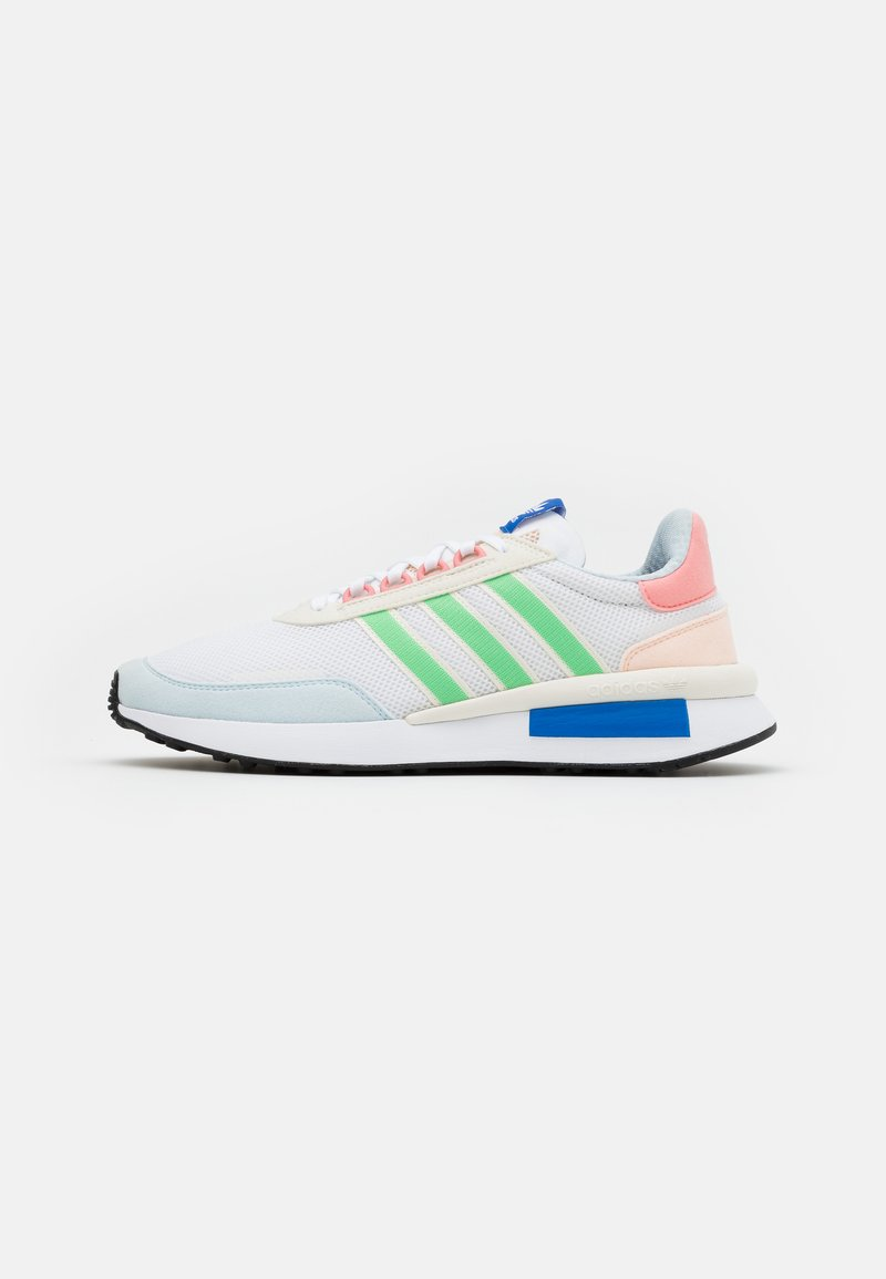 adidas Originals - RETROSET UNISEX - Trainers - footwear white/glow mint/offwhite