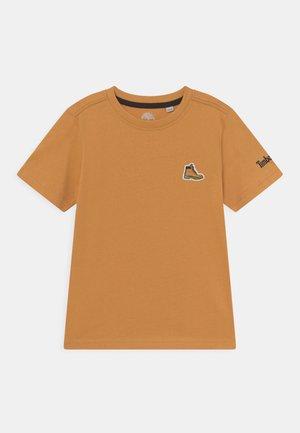 SHORT SLEEVES TEE - T-shirt basic - ochre