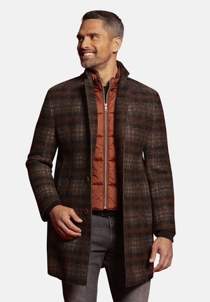 IM KARO-DESIGN - Classic coat - braun