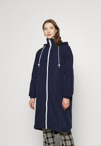 Lacoste - Classic coat - navy blue/white - 0