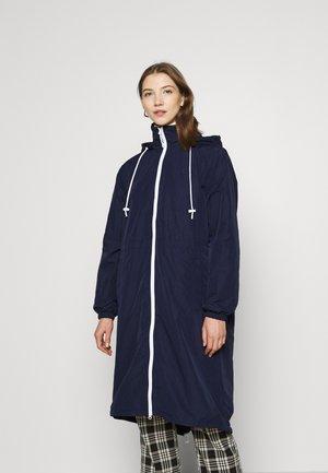 Manteau classique - navy blue/white