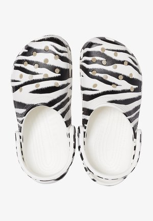 ANIMAL PRINT  - Clogs - white / zebra print