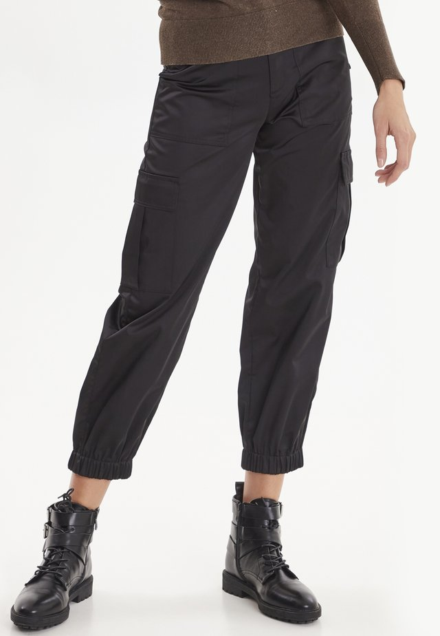 PXTRUDY  - Cargo trousers - black