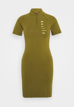 DRESS - Vestido ligero - olive flak/volt
