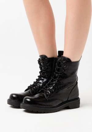 TALISI - Bottines à lacets - black