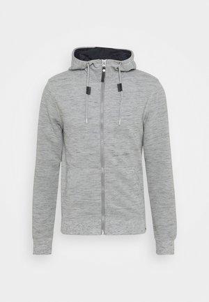 HUGO - Zip-up hoodie - light grey