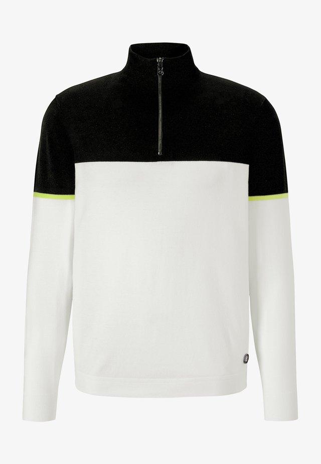 HORUS - Pullover - off-white/schwarz